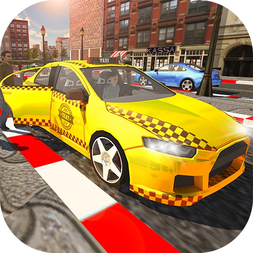 City Taxi Driver Simulator : Car Driving Games